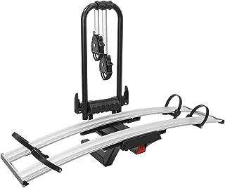 OMAC Auto Accessories Suporte dobrável para bicicletas engate   2 suportes para bicicletas ajustáveis adequado para bicicl...