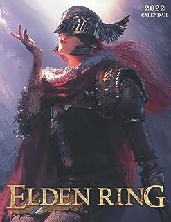 Elden Ring Calendar 2022: Elden Ring Games calendar 2022-2023-18 months- Planner Gifts boys girls kids and all Fans BIG SI...