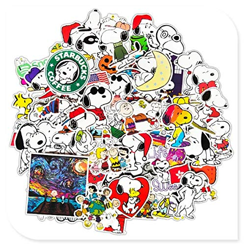 Snoopy Suitcase Stickers 62 Suitcase Trolley Computer Guitar Waterproof Decorative Stickers