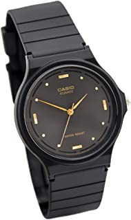 Watch for Unisex by Casio, Analog, Resin, Black, MQ-76-1A