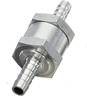 8mm REFURBISHHOUSE Clapet Anti-Retour Valve a Carburant Gasoil gazole Aluminium