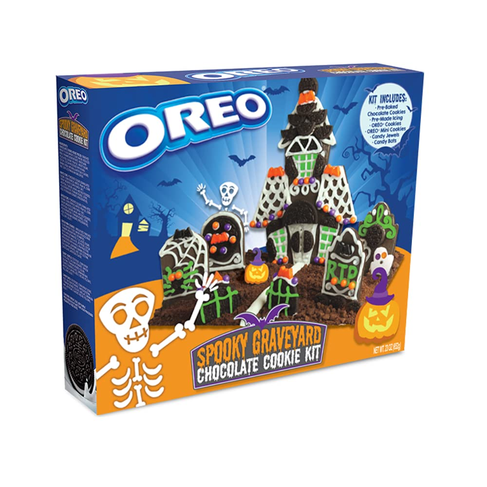 OREO Spooky Cheap mail order shopping Graveyard Chocolate Many popular brands Cookie Kit