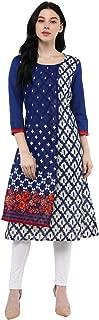Rangmanch By Pantaloons Women's A-Line Cotton Kurta
