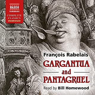 Gargantua and Pantagruel audiobook cover art