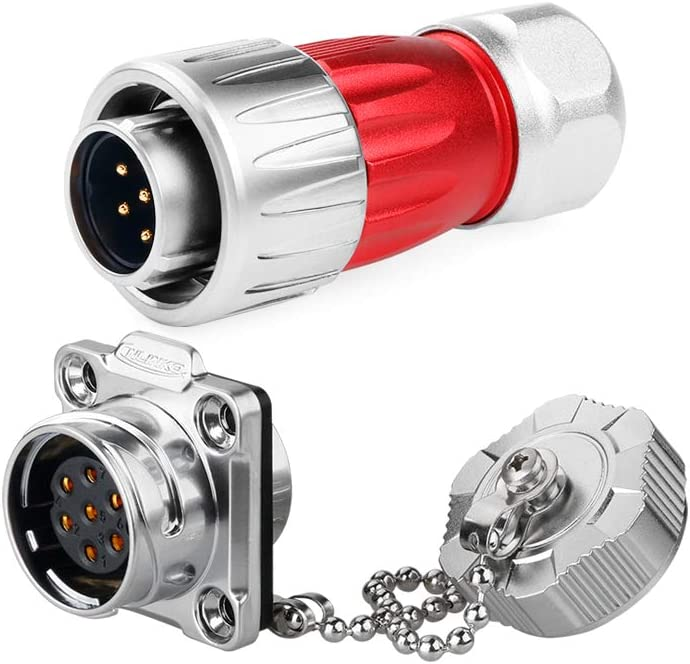 Cnlinko Metal Shell M20 7Pin Cable Panel online El Paso Mall shopping Mount Plug Circular Ele