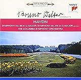 ハイドン/交響曲第88番「V字」&第100番「軍隊」 - コロンビア交響楽団, ハイドン, ワルター(ブルーノ), コロンビア交響楽団