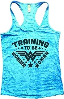training to be wonder woman tank