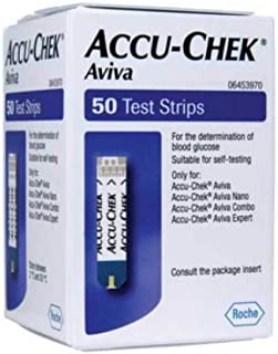 Accu-chek Aviva Glucose Test Strips 50 (Pack of 3)