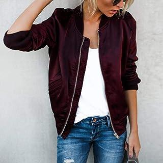 sf 2019 Fashion Windbreaker Jacket Women Summer Coats Long Sleeve Basic Jackets Bomber Thin Women's Jacket Female Jackets ...