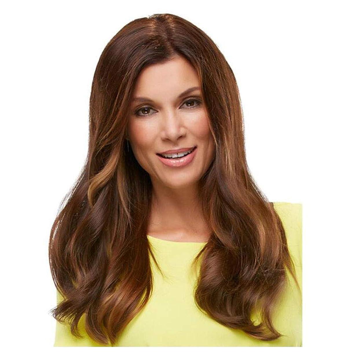 盆地繰り返す準備かつら長い巻き毛のような 女性のための耐熱性 - 日常的な摩耗やコスチュームウィッグのための自然な探している完全な頭髪の交換