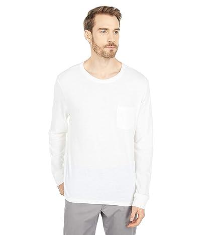 Threads 4 Thought Tri-Blend Long Sleeved Henley (White) Men