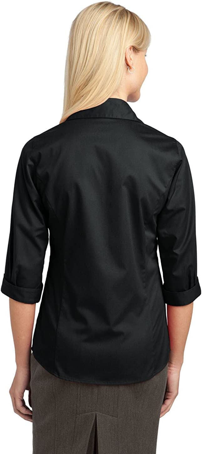 Port Authority Improved Ladies 3/4-Sleeve Blouse. L6290