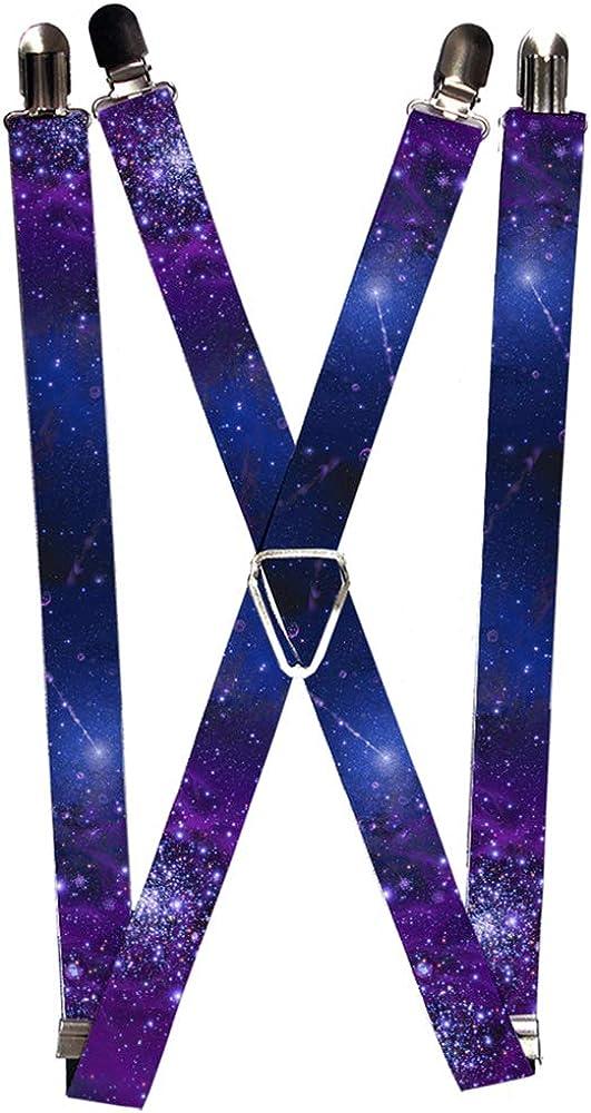 Buckle-Down boys Buckle-down - Galaxy Suspenders, Galaxy, One Size US
