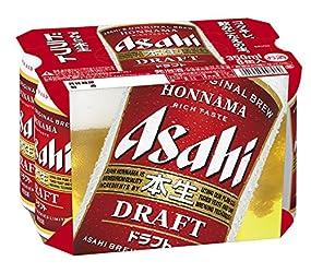 アサヒ 本生ドラフト 350ml×6缶 2100ml