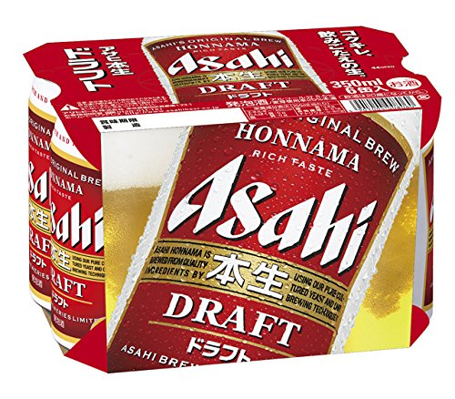 アサヒビールアサヒ本生ドラフト350ml缶