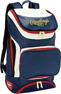 拉绳(Rawlings) 球队背包 38L EBA9S01 *蓝/白色 W32×H54×D22cm
