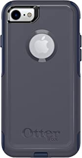 Commuter Series Case for iPhone 8 & iPhone 7 (NOT Plus) - Retail Packaging - Indigo Way (Maritime Blue/Admiral Blue)