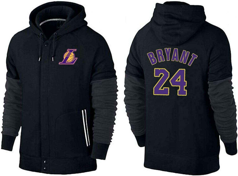 Basketball Hoodie Herren Basketball Hoodie L.A Lakers Kobe Bryant #24 Kapuzenpullover Sweatshirt Herbst Training Langarm Ballanzug