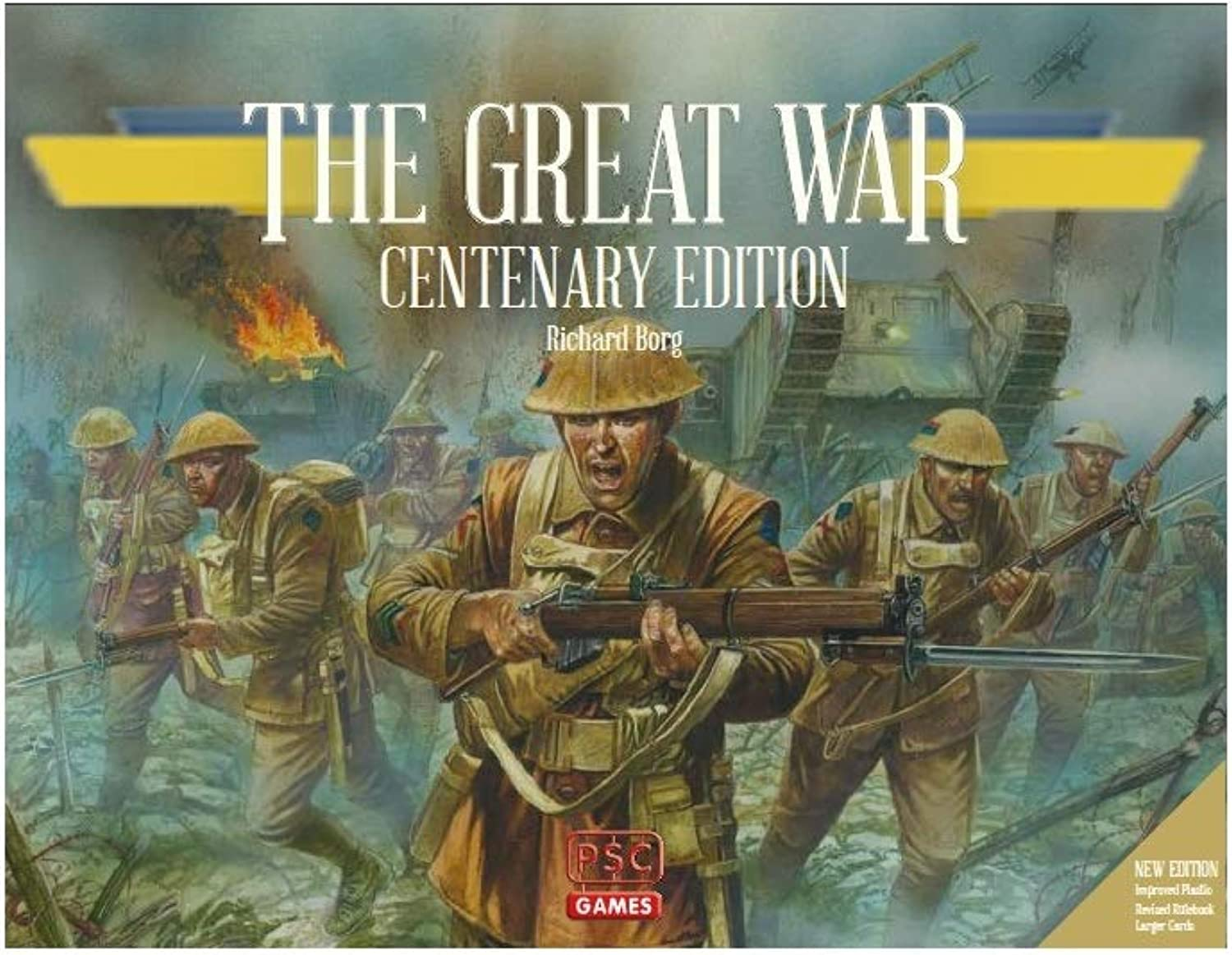 Plastic Soldier Company The PSCTGW026 The War Centenary Edition, Multicoloured