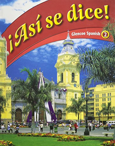 Asi Se Dice! (Spanish Edition)