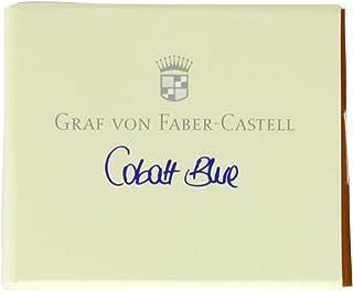 Faber-Castell GF141101 6-Pieces Ink Cartridges, Cobalt Blue