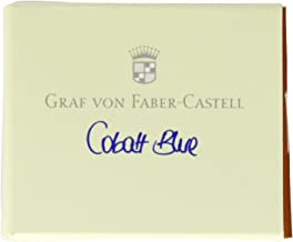 Graf von Faber-Castell Ink Cartridges, Box of 6, Cobalt Blue (FC141101)