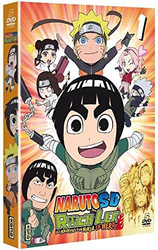 Naruto SD Rock Lee : Les péripéties d'un Ninja en Herbe-Vol. 1