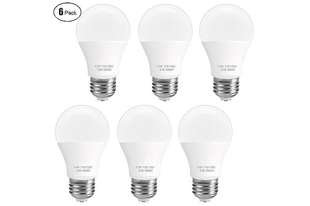Best Led Light Daylight Bulbs For Home Amazon Com