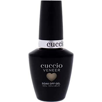 Cuccio - Veneer Gel Nail Polish - Trust Yourself! - Soak Off Lacquer for Manicures & Pedicures, Full Coverage - Long Lasting, High Shine - Cruelty, Gluten, Formaldehyde & Toluene Free - 0.43 oz