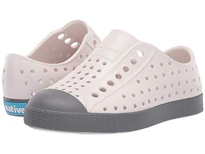 Native Kids Shoes Jefferson (Toddler/Little Kid) (Cloud Grey/Dublin Grey) Kids Shoes