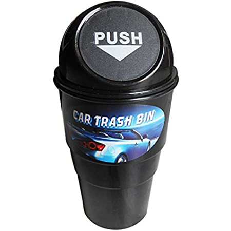 Generic (unbranded) Mini Car Trash Bin (Black)
