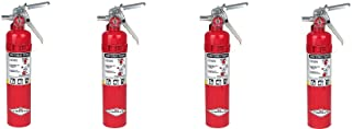 Amerex B417, 2.5lb ABC Dry Chemical Class A B C Fire Extinguisher, with Wall Bracket (4-PACK)