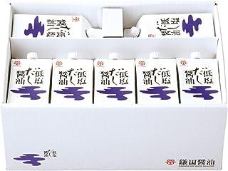 鎌田醤油 低塩だし醤油200ml ×14本入