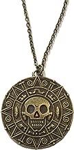 Azteca Cortez-Aro de Piratas del Caribe Disney-Jack Sparrow bronce