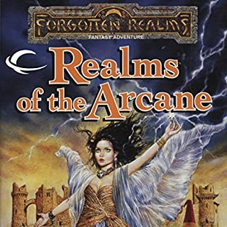 Realms of the Arcane audiobook cover art