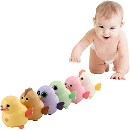 high quality Pack of online sale 6 Electric Chicken Toys Electronic Interactive Chick Toy for Kids Magnetic Electric Toy Chicks Duck Owl Animal Toys Gift for online sale Boys Girls Birthday Walking Swinging Chicken online