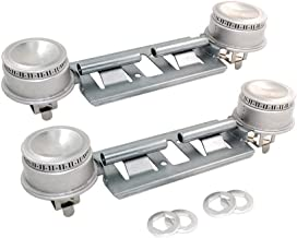 MAYITOP WB16K10026 (2 Pack) Gas Stove Top Double Burner for GE General Electric Range Assembly AP2633210, PS232404,WB29K17
