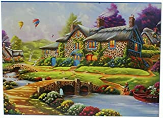 QMGLBG 1000 Pieces of Wooden Puzzles Beautiful Series Jigsaw Puzzle Dreamscape Harmony Send Girlfriend Birthday Creative G...