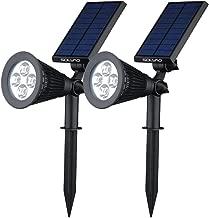 SOLVAO 太阳能聚光灯 黑色 SS40-2