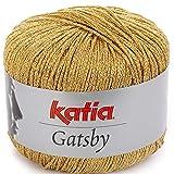 Lanas Katia Gatsby Ovillo de Color Dorado Cod. 20