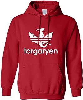 Adult Hoodie Targaryen Dragon Symbol Cool Top Trendy Hooded