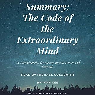 Summary: The Code of the Extraordinary Mind Titelbild