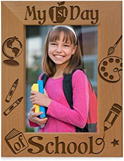 KATE POSH - My First Day of School Picture Frame (5x7 Vertical)
