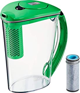 Brita Stream 10 Cup BPA Free Filter-As-You-Pour Water Pitcher - Island Green