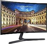 Samsung C24F396 Monitor Curvo, 24 Pollici, Full HD, FHD, 1920 x 1080, 4 ms, 16:9, 60 Hz,...