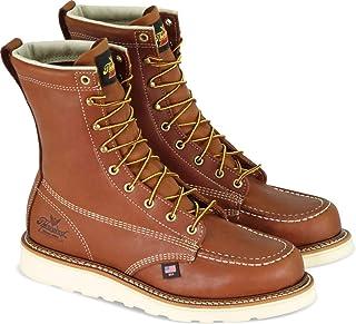 "Thorogood Men`s American Heritage 8"" Moc Toe - Safety Toe"