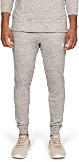 Under Armour Men's Sportstyle Terry Jogger Pants, White (Onyx White), Large