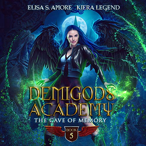 The Cave of Memory Audiobook By Elisa S. Amore, Kiera Legend cover art