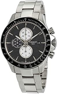 Tissot V8 Black Dial Mens Chronograph Watch T106.427.11.051.00