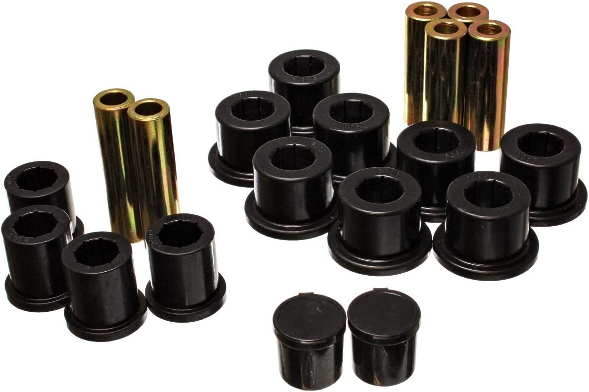 Energy Year-end annual account Suspension 5.2118G Leaf Spring Black Cheap mail order shopping Bushing Set